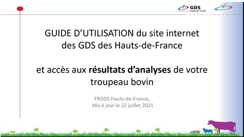 Adhérents des GDS des Hauts-de-France, pensez à consulter vos résultats d'analyses via notre site !